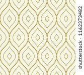 seamless vector golden dotted... | Shutterstock .eps vector #1162373482