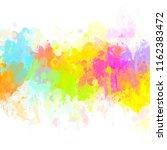 multicolored splash   colorful... | Shutterstock . vector #1162383472