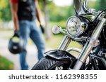 part of motorcycle headlight.... | Shutterstock . vector #1162398355