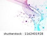 scientific illustration genetic ... | Shutterstock . vector #1162401928