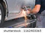 repair service worker fix...   Shutterstock . vector #1162403365