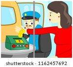 cartoon vector illustration of... | Shutterstock .eps vector #1162457692