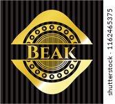 beak gold shiny emblem   Shutterstock .eps vector #1162465375