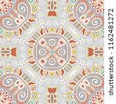 hand drawn seamless pattern ... | Shutterstock .eps vector #1162481272