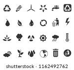 environment energy icons | Shutterstock .eps vector #1162492762