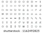 mixed user interface icons