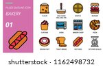 filled outline style icon pack... | Shutterstock .eps vector #1162498732