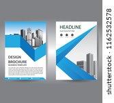 brochure design  cover modern... | Shutterstock .eps vector #1162532578