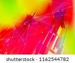 futuristic smart metropolis...   Shutterstock . vector #1162544782