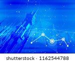 futuristic smart metropolis... | Shutterstock . vector #1162544788
