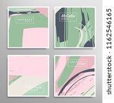 creative artistic backgrounds... | Shutterstock .eps vector #1162546165
