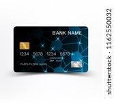 luxurious credit card design.... | Shutterstock .eps vector #1162550032
