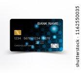 luxurious credit card design.... | Shutterstock .eps vector #1162550035
