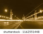 view on pont alexandre iii in... | Shutterstock . vector #1162551448