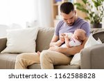 family  parenthood and people... | Shutterstock . vector #1162588828
