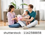 family  parenthood and mothers...   Shutterstock . vector #1162588858