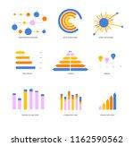 ads rating visualisation... | Shutterstock .eps vector #1162590562