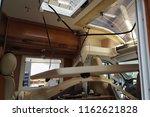 disassembled ceiling of camper... | Shutterstock . vector #1162621828