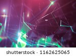 abstract neon background.... | Shutterstock . vector #1162625065