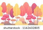 seamless line horizontal... | Shutterstock .eps vector #1162632805