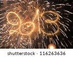 happy new year   2013 | Shutterstock . vector #116263636