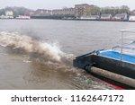 london  uk 04 12 2018 exhaust... | Shutterstock . vector #1162647172