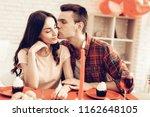 couple romantic dinner at...   Shutterstock . vector #1162648105