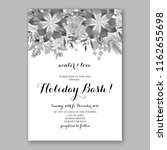 floral vector background for...   Shutterstock .eps vector #1162655698
