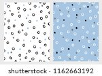 hand drawn circles seamless... | Shutterstock .eps vector #1162663192