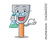 professor character putty knife ... | Shutterstock .eps vector #1162663252