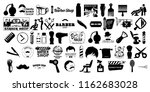 barbershop icon tool | Shutterstock . vector #1162683028