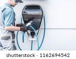 outdoor electric vehicle... | Shutterstock . vector #1162694542