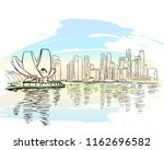 singapore   august 21  2018 ... | Shutterstock .eps vector #1162696582