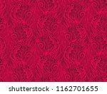 seamless red vector woven... | Shutterstock .eps vector #1162701655
