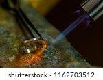 profession jeweler. craft... | Shutterstock . vector #1162703512