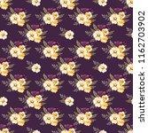 seamless vector ornamental... | Shutterstock .eps vector #1162703902