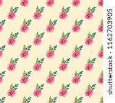 seamless vector ornamental... | Shutterstock .eps vector #1162703905