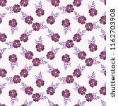 seamless vector ornamental... | Shutterstock .eps vector #1162703908