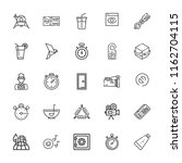 collection of 25 elements... | Shutterstock .eps vector #1162704115