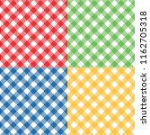 plaid angled pattern small | Shutterstock .eps vector #1162705318