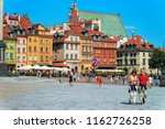 warsaw  poland   july 30  2018  ... | Shutterstock . vector #1162726258