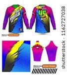 long sleeve motocross jerseys t ...   Shutterstock .eps vector #1162727038