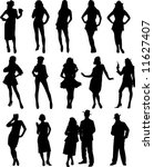 vector people image figure   Shutterstock .eps vector #11627407