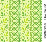 seamless pattern with ornament  ... | Shutterstock .eps vector #1162752355