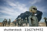 aliens are evacuated from a...   Shutterstock . vector #1162769452