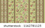traditional  indian  floral... | Shutterstock . vector #1162781125