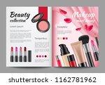 advertising cosmetics in... | Shutterstock .eps vector #1162781962