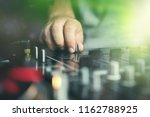 hand of club party dj mixing...   Shutterstock . vector #1162788925