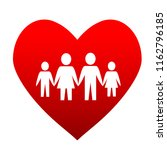 mother  father and children... | Shutterstock . vector #1162796185