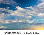 Sky Background On Sunrise....